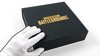 PUBG PS4 Press Kit Edition Unboxing + PlayerUnknown