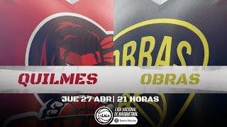 Liga Nacional: Quilmes vs. Obras | #LaLigaEnTyC