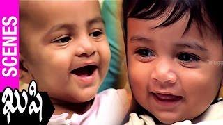 Kushi Movie Scenes | Pawan Kalyan Meets Bhumika at Shopping Mall | Ali | SJ Surya | Mani Sharma