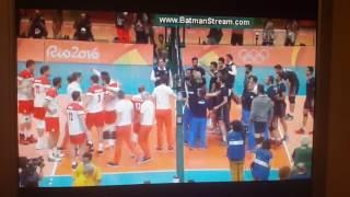 Last point on Poland vs. Iran