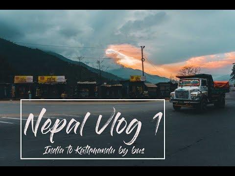 Xxx Mp4 India To Nepal By Road Bus VLOG 1 Sonauli Kathmandu Nepal 2017 3gp Sex