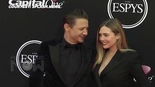 Elizabeth Olsen & Jeremy Renner Asked To KISS At 2017 ESPY Awards Red carpet