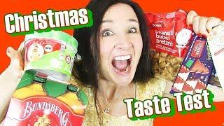CHRISTMAS CANDY & TREATS Taste Test 2017