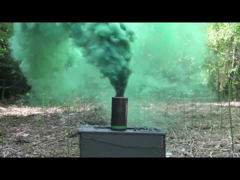Enola Gaye EG18 Assault Smoke Grenade (GREEN) by Rocket.ca - Toronto, Canada