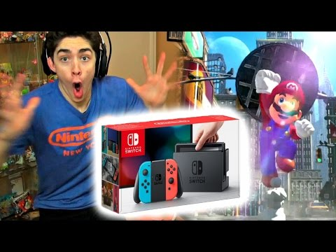 watch NINTENDO SWITCH LIVE PRESENTATION REACTION HIGHLIGHTS!! (*INSANE FREAKOUT*)