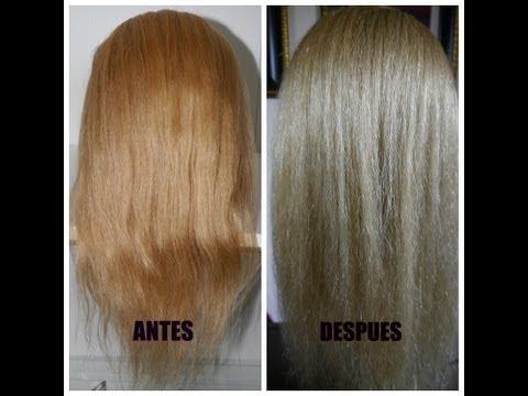 Como pintar tu cabello de Rubio Dorado a Rubio Cenizo paso a paso