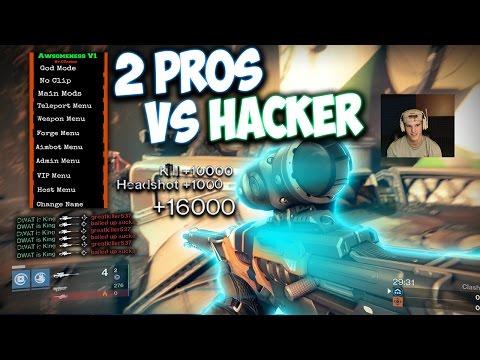 HACKER Vs 2 PRO Top 1% Players - Destiny 1v2 2 Pro Top 1% Players Vs Destiny Hacker