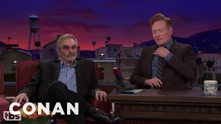 Burt Reynolds Was Plastered During His Infamous Nude Photoshoot  - CONAN on TBS