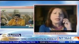 Creo que estamos en los últimos días de Maduro: Periodista Milagros Socorro sobre protestas en Vzla