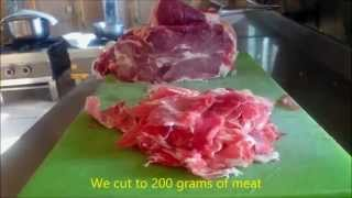 Turkish Doner Kebab Make at home. Easy recipes watch returns to home