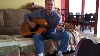 danny lee adkins sr. (randy travis look alike) ronnie milsap that girl that waits on tables.mp4