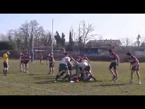 Rugby U18 - G.Brianza vs Cernusco - 01/03/2015 1° tempo