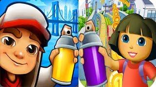 Subway Surfers New York VS Adventure Dora Games Run Android iPad iOS Gameplay HD