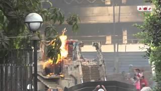 رصد | مشاهد لم تعرض | فض اعتصام رابعة العدوية و المعتصمين في مواجهة الجرافات