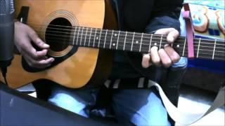 Naina - Dangal - Arijit Singh - GUITAR COVER LESSON CHORDS EASY VERSION