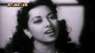 Ye mausam aur ye tanhai - a song by Suraiya