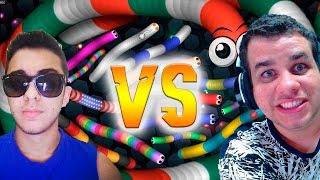 SLITHER.IO - MAFIL vs KIBOX  [Melhores Momentos/Best Moments]