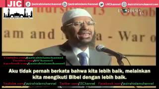 Wanita Filipina Mencoba Menasehati Dr  Zakir Naik Saat Berceramah, Dia Baru Masuk Islam  -
