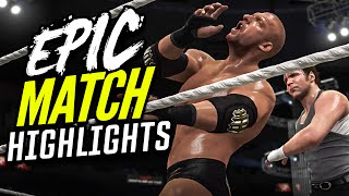 WWE 2K16 Roadblock 2016 Triple H vs. Dean Ambrose | Epic Match Highlights!