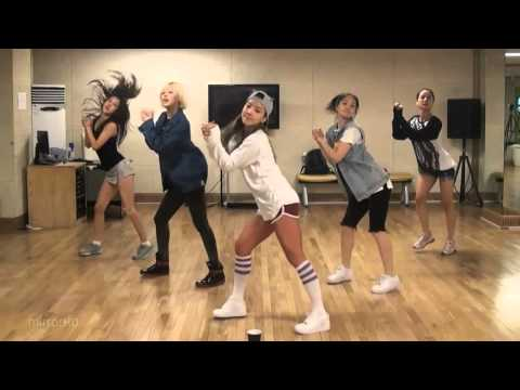 Spica - I'll Be There mirrored Dance Practice