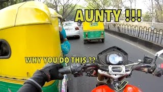 Bangalore reactions 27: AUNTY!! WHAT THE HELL   India Funny Videos
