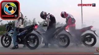 Komparasi Honda Sonic 150R, Suzuki Satria F150, Yamaha MX King 150