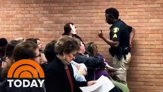 Louisiana Teacher Arrested After Speaking Out At Meeting And Caught On Video | TODAY