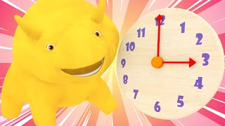 Dino and Dina Learn about Hours and Meal Times - Learn with Dino | Learning Videos for Children