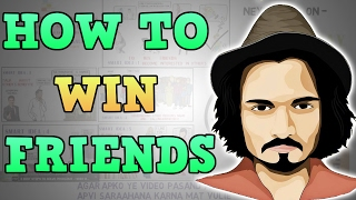 HOW TO WIN FRIENDS AND INFLUENCE PEOPLE (HINDI) BY DALE CARNEGIE ANIMATED BOOK REVIEW