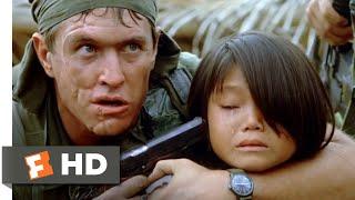 Platoon (1986) - Barnes Crosses the Line Scene (3/10)   Movieclips