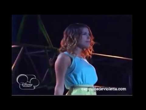 Violetta2 Violetta canta Como Quieres y besos Diego Cap. 39