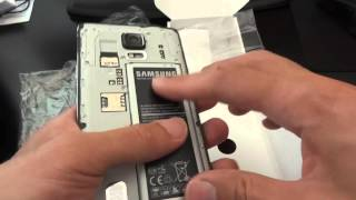 Samsung Galaxy Note 4 N910A - Unboxing