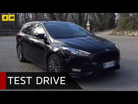 Ford Focus SW ST-Line 2017  | Test Drive #AMboxing