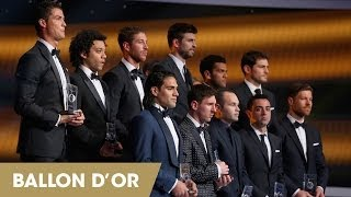 Forwards unveiled on Team of the Year shortlist