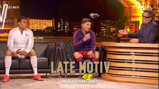 LATE MOTIV - Cristiano y Messi by Martín Bossi  | #LateMotiv37