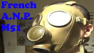 My most baffling gas mask, the French ANP M51