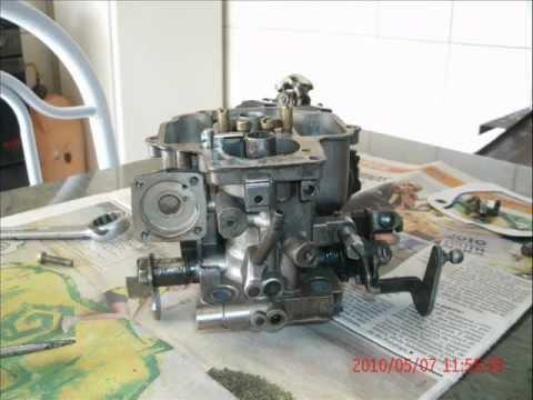 limpeza carburador weber 460 chevete.wmv