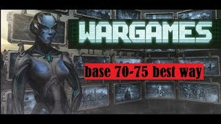 kixeye war commander op : war games base 70-75 easy way