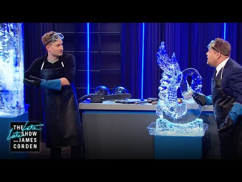 Ice Sculptor: Amazing Demonstration
