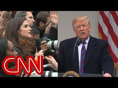 CNN reporter presses Trump You promised Mexico would pay for wall