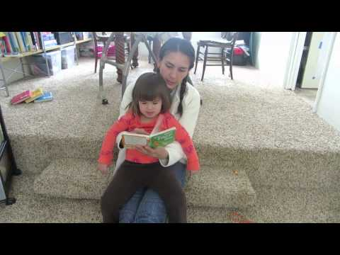 Mom reads to NS