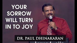 Your Sorrow Will Turn In To Joy (English - Hindi) - Dr.Paul Dhinakaran