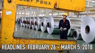A Trade War With China Over Aluminum?