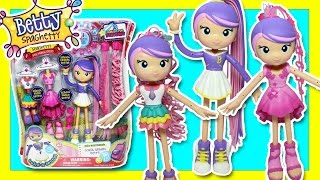 2016 Betty Spaghetti Doll - Mix And Match - Betty Spaghetty Dress Up Doll Toys Video