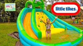 Best Water Slide - Little Tikes Biggest Slide Pool for Summer Kids Activity Kid-Friendly Toy Review