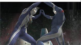 Ultraman Agul Vs Ultraman Cosmos ★Play ウルトラマン FER