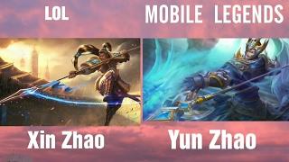 League Of Legends Vs Mobile Legends