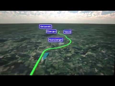 N18 Drone Projects het Traject van Enschede naar Groenlo virtuele tour van Rijkswaterstaat
