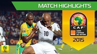 South Africa - Ghana | CAN Orange 2015 | 27.01.2015