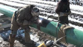 Pipeline Welding  -  Fill and Cap  -  Complete Setup